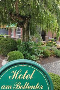 Garten Hotel am Boltentor, seitlich.