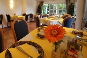 Hotel am Boltentor, Frühstücksraum groß.