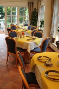 Hotel am Boltentor, Frühstücksraum seitlich.